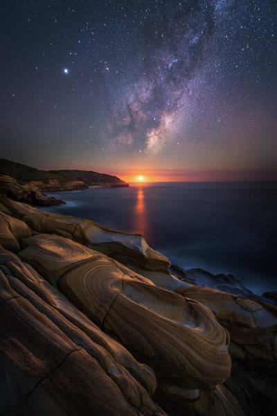 Rock Formation Photograph - Lonely Planet by Tim Fan
