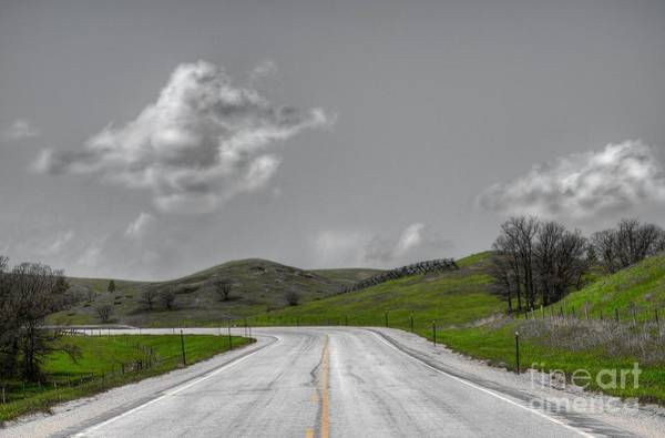 Photograph - Lonely Road by Anthony Wilkening