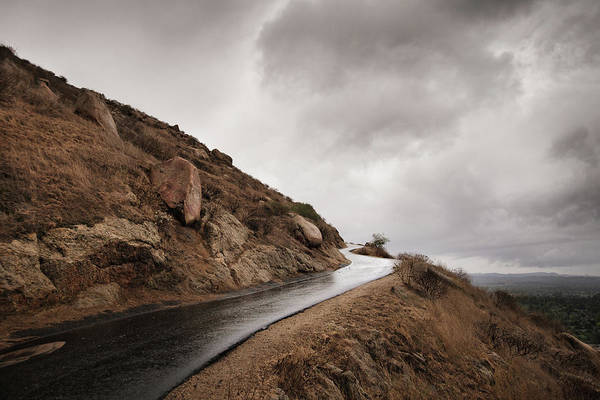 Riverside California Photograph - Lonely Road by Eric Lowenbach