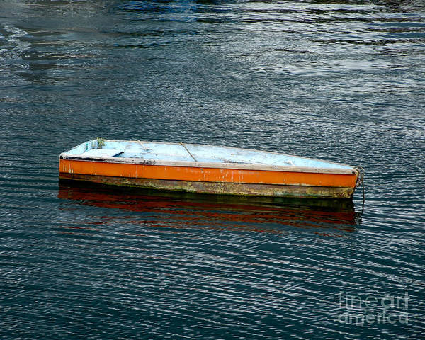 Photograph - Lonely Skiff by Kristen Fox