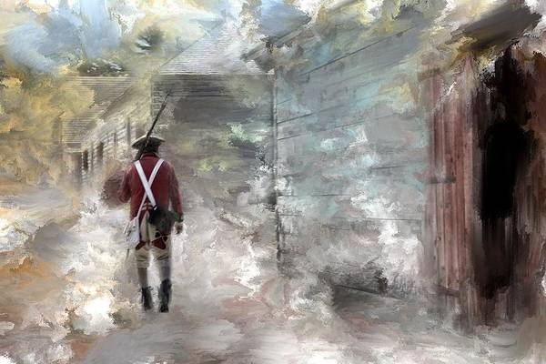Michilimackinac Wall Art - Photograph - Lonely Soldier by Evie Carrier