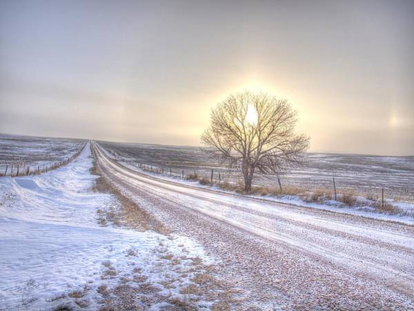 Photograph - Lonely Sunrise by HW Kateley