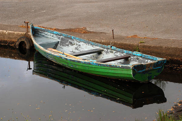 Wall Art - Photograph - Lonesome Boat by Sarah-jane Laubscher