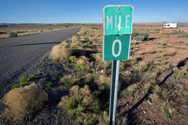 Four Corners Wall Art - Photograph - Lonesome Highway In Southern Utah by Scott Warren