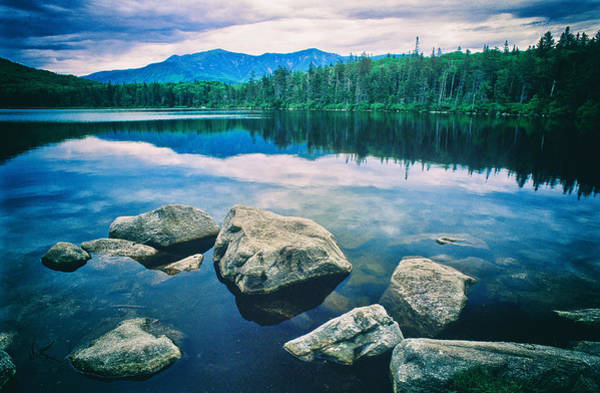Photograph - Lonesome Lake Nh by Michael Hubley