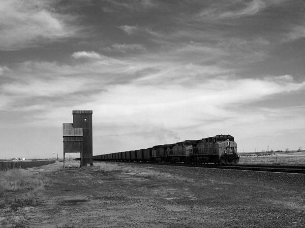 Photograph - Lonesome Rail by HW Kateley