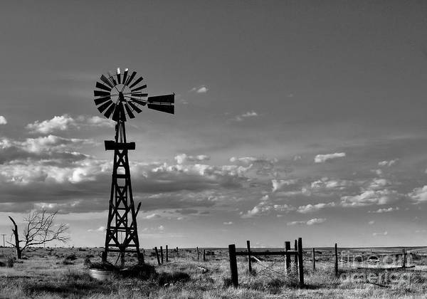 Wall Art - Photograph - Lonesome Windmill by Steven Reed