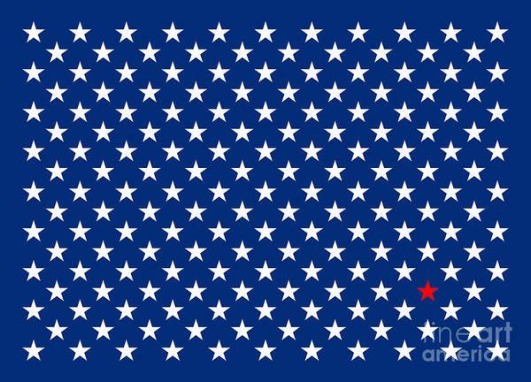 America Digital Art - Lonestar by Bruce Stanfield