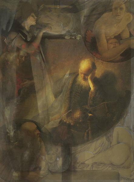Franz Von Stuck Painting - Long Ago by David Matthews
