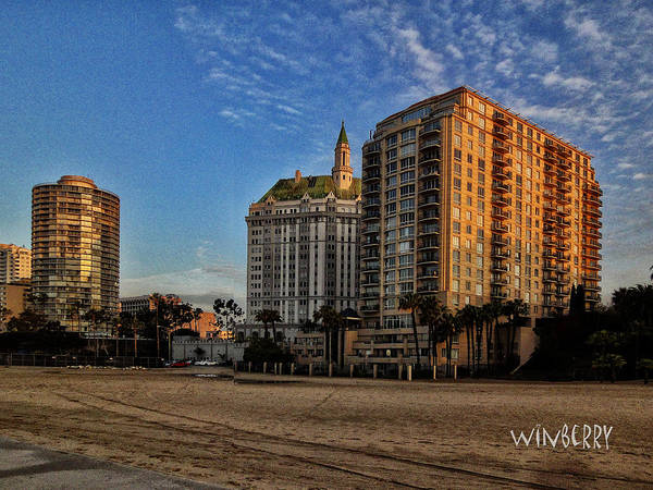 Digital Art - Long Beach by Bob Winberry
