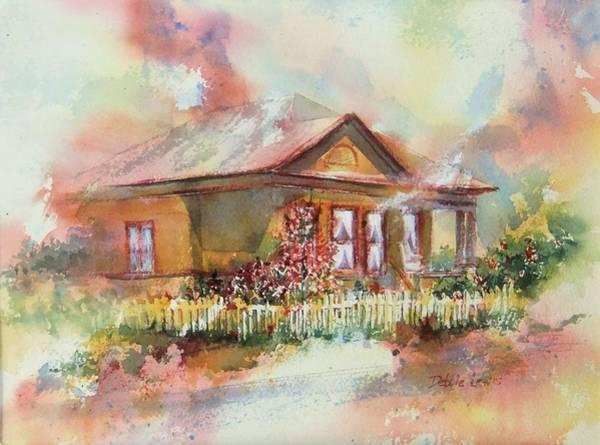 Painting - Long Beach Home by Debbie Lewis