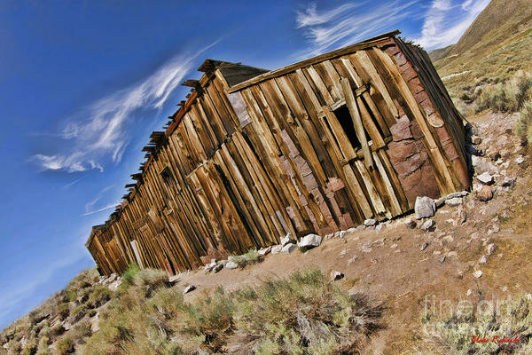 Photograph - Long Bodie Building Color by Blake Richards