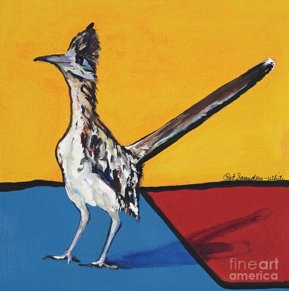 Painting - Long Distance Runner by Pat Saunders-White