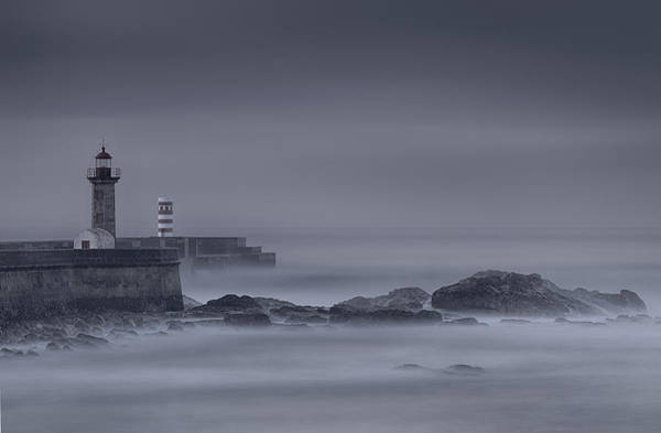 Photograph - Long Exposure Foz Porto by Bruno Rosa