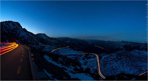 Photograph - Long Exposure In Serra Da Estrela Portugal by Bruno Rosa