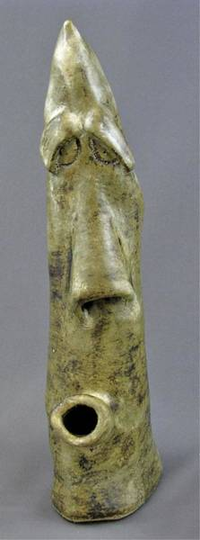 Sculpture - Long Face #2 by Mario MJ Perron