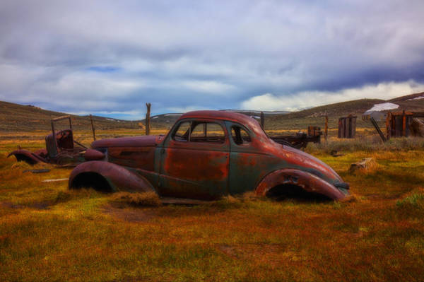 Bodie Ghost Town Wall Art - Photograph - Long Forgotten by Garry Gay