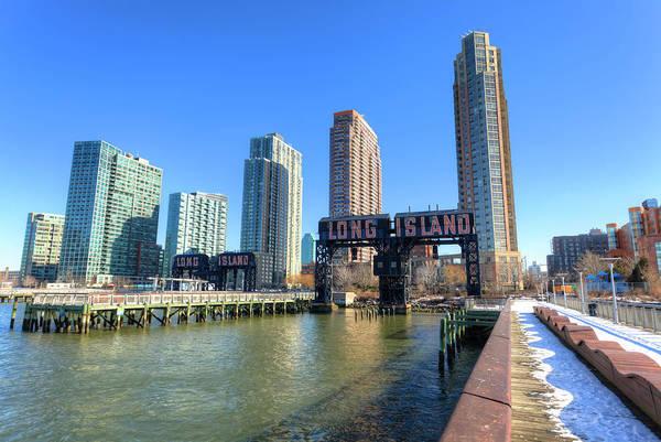Long Island City Photograph - Long Island City Gantry Cranes, New York by Pawel.gaul