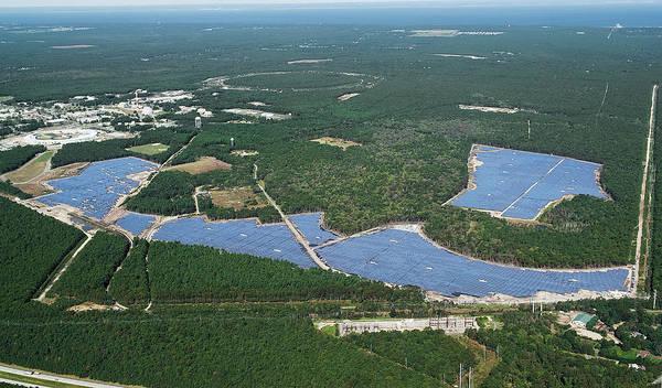 Solar Panels Photograph - Long Island Solar Farm by Brookhaven National Laboratory