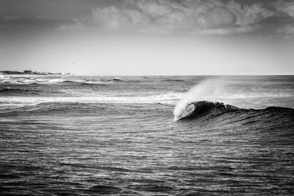 Thru Photograph - Long Island Wave by Ryan Moore
