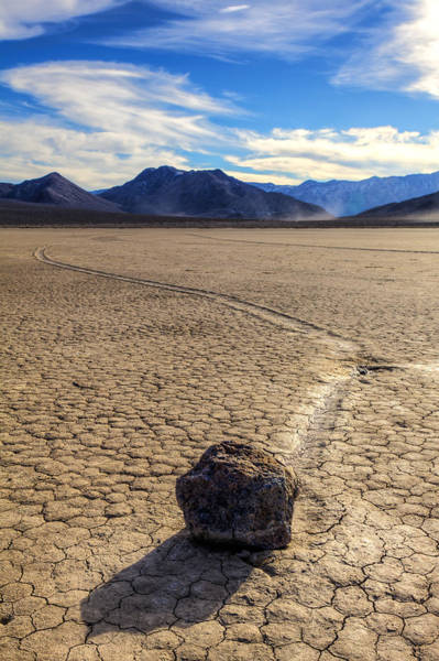 Racetrack Playa Photograph - Long Journey  by James Marvin Phelps