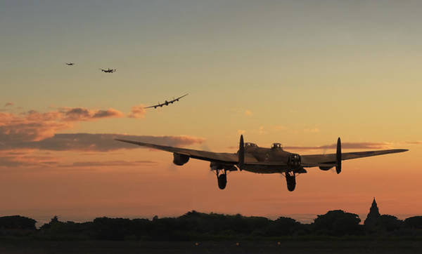 Avro Wall Art - Digital Art - Long Night Ahead by Pat Speirs