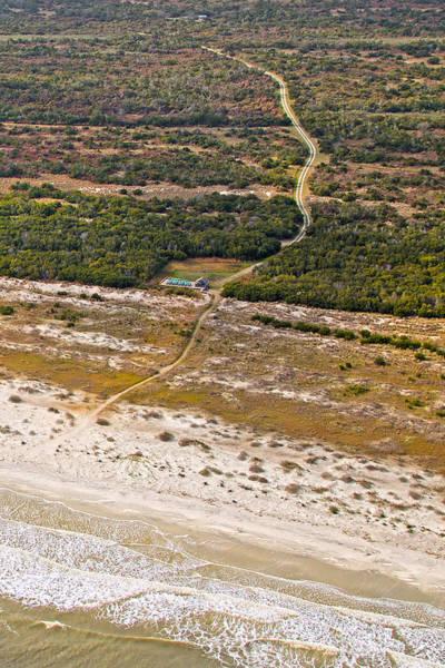 Jekyll Island Photograph - Long Road To The Coast Near Jekyll Island by Betsy Knapp