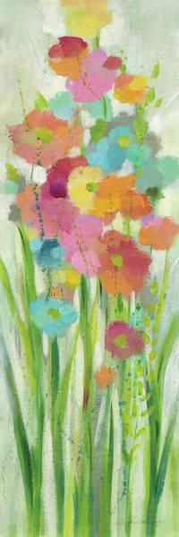 Wall Art - Painting - Long Stem Bouquet I by Silvia Vassileva