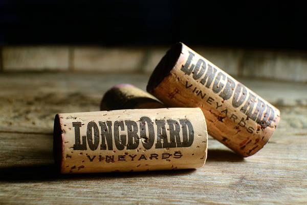 Brandy Photograph - Longboard Corks by Jon Neidert