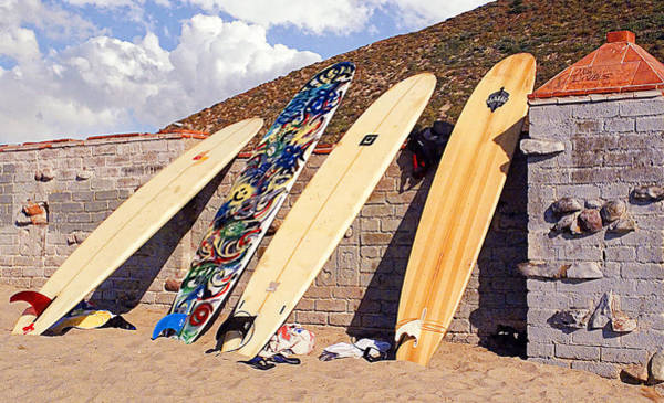 Wall Art - Photograph - Longboard Lineup by Ron Regalado