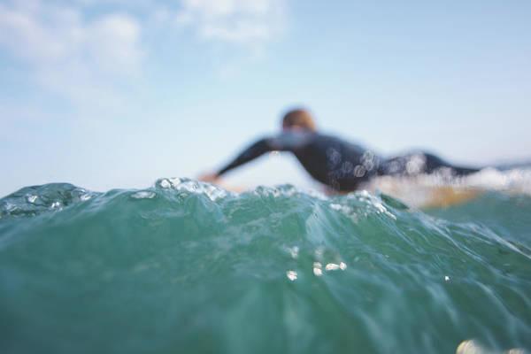Photograph - Longboard Style by Matt Porteous