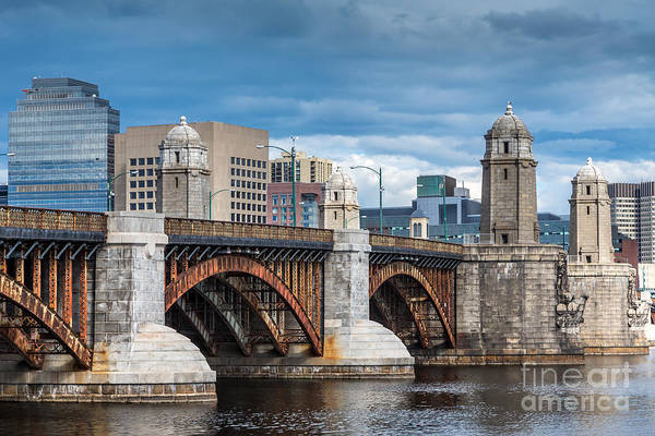 Photograph - Longfellow Bridge On The Charles by Susan Cole Kelly