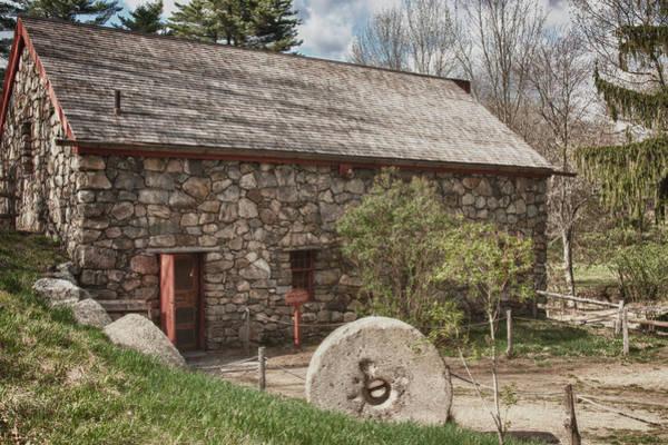 Wayside Photograph - Longfellow's Wayside Inn Grist Mill by Jeff Folger