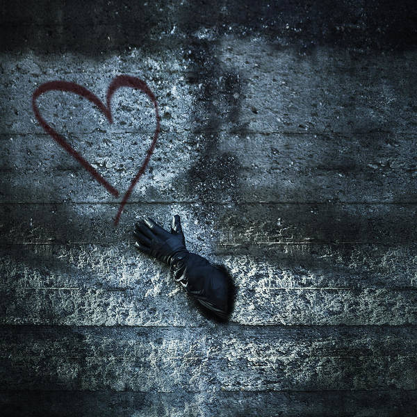 Stone Wall Art - Photograph - Longing For Love by Joana Kruse
