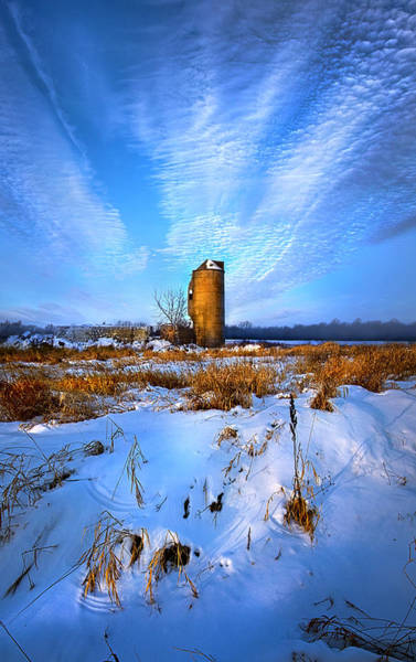 Silo Wall Art - Photograph - Longing For Some Solitary Company by Phil Koch