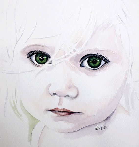 Longing Eyes Art Print