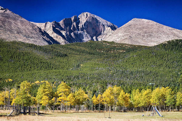 Photograph - Longs Peak A Colorado Playground by James BO Insogna