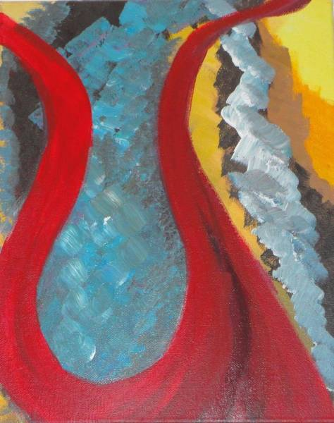 Wall Art - Painting - Longship by Valerie Howell