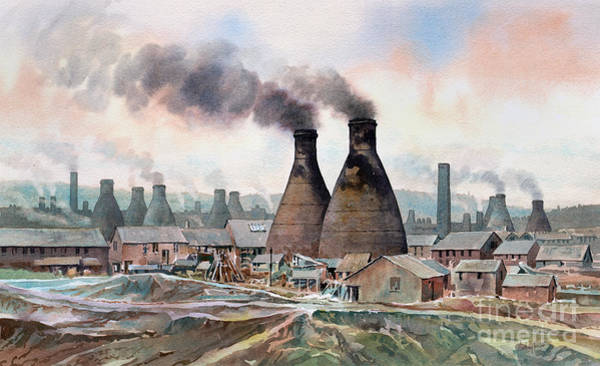 Wall Art - Painting - Longton Marlhole by Anthony Forster