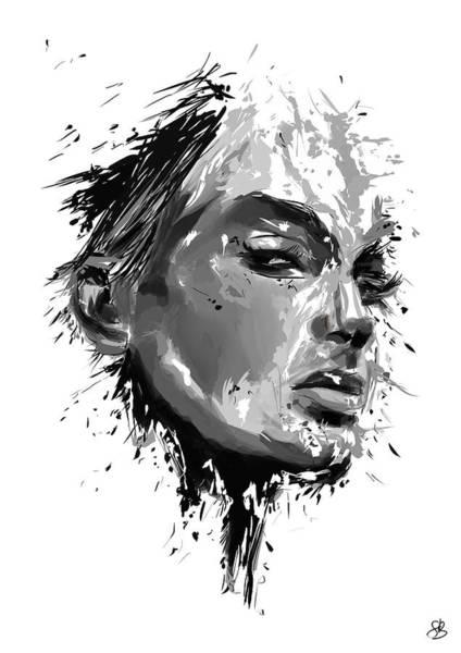 Portraits Mixed Media - I See You by Balazs Solti