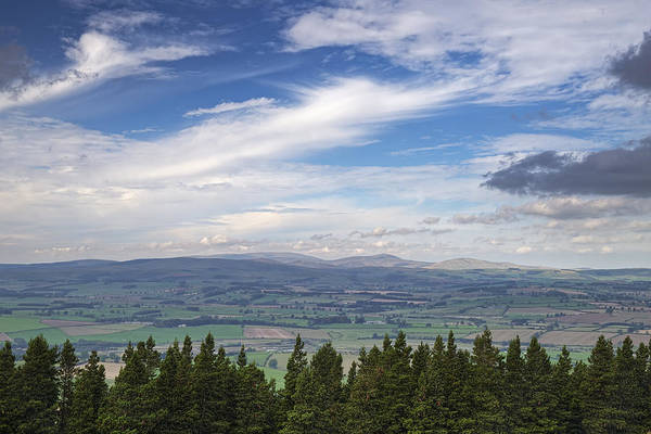 Northumbria Photograph - Looking Across To The Cheviots by David Taylor