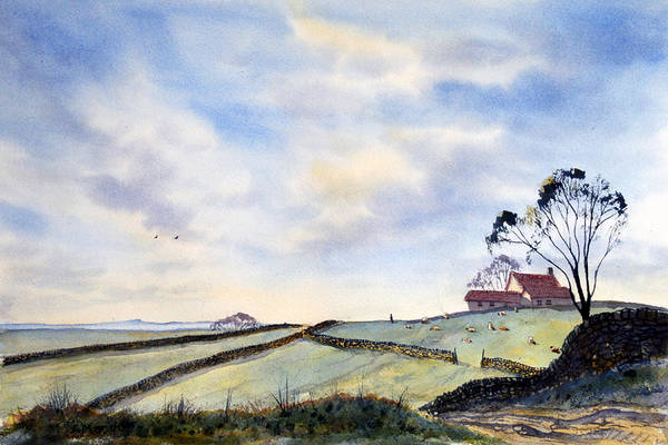 Painting - Looking Back From Troutsdale by Glenn Marshall