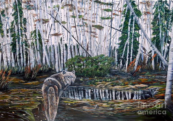 Painting - Looking Back by Marilyn  McNish