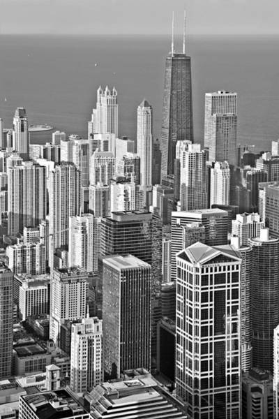 Photograph - Looking Down At Beautiful Chicago by Christine Till