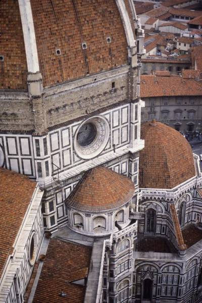Duomo Di Firenze Wall Art - Photograph - Looking Down At The Duomo by Stuart Litoff