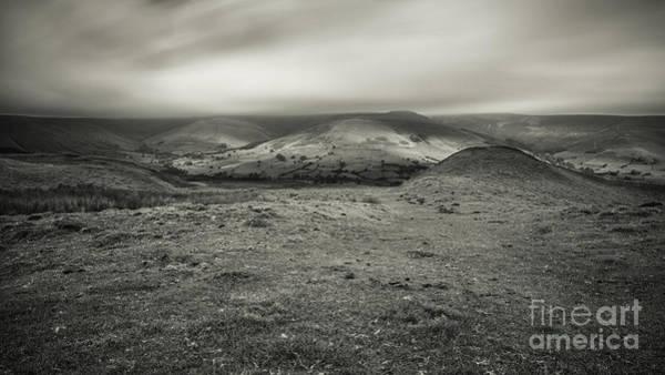 Peak District National Park Photograph - Looking Down On Edale by Nigel Jones