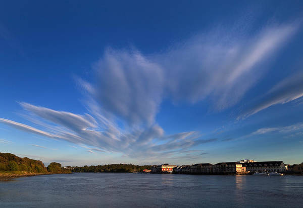 Suir Photograph - Looking Down Stream From Waterford by Panoramic Images