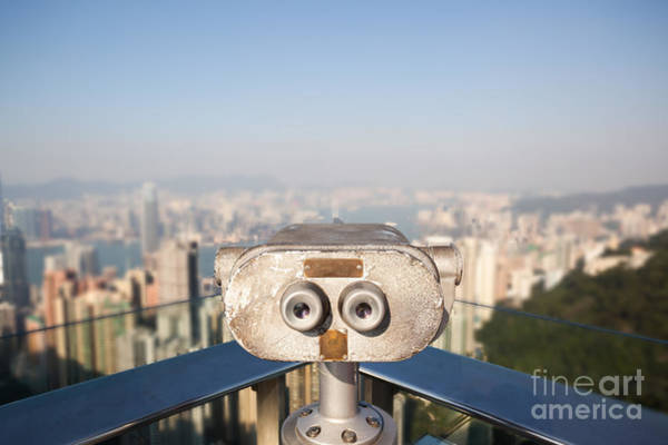 Wall Art - Photograph - Looking Down To Hong Kong by Matteo Colombo