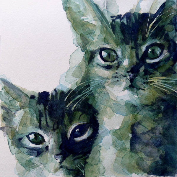 Kitten Wall Art - Painting - Looking For A Home by Paul Lovering