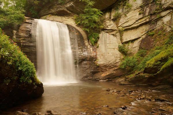 North Carolina Waterfalls Photograph - Looking Glass Falls H by Mike McGlothlen